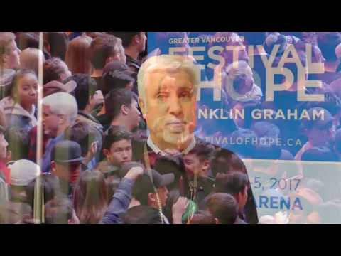 Grace Cafe Interviews (Faith Talk) on Festival of Hope in Greater Vancouver Part 1