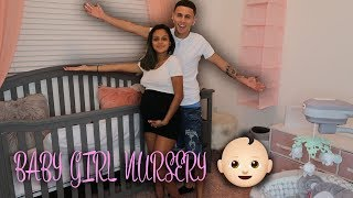 BABY GIRL NURSERY TOUR TIME LAPSE
