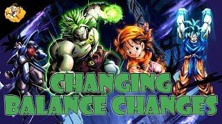 Changing Balance Changes Dragon Ball Legends DB DBL
