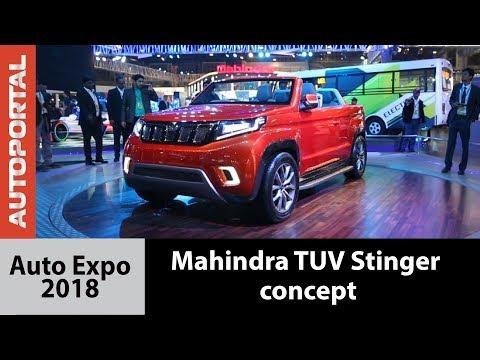 Mahindra Stinger Concept - Auto Expo 2018