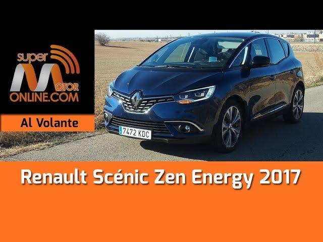 Renault Scénic 2017 / Al volante / Prueba dinámica / Review / Supermotoronline.com