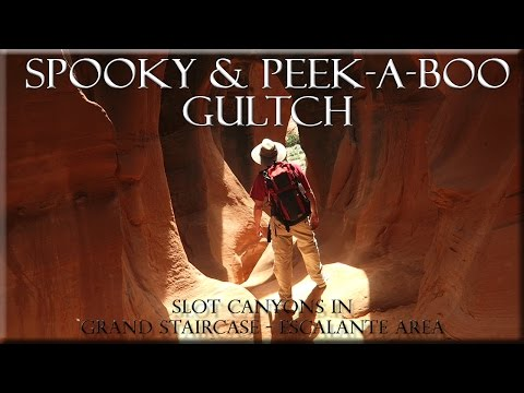 Spooky and Peek A Boo Slot Canyons Escalante Utah