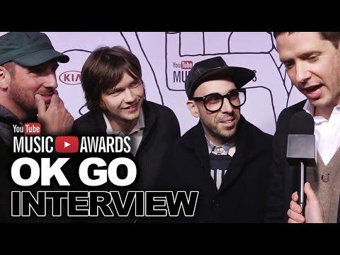 OK Go Share Secret to Going Viral-2013 YouTube Music Awards