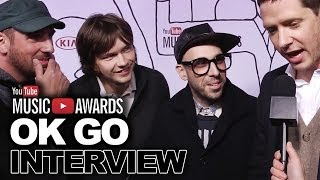 OK Go Share Secret to Going Viral-2013 YouTube Music Awards