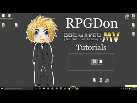RPG Maker MV Custom Tutorial -how to add Custom Music-