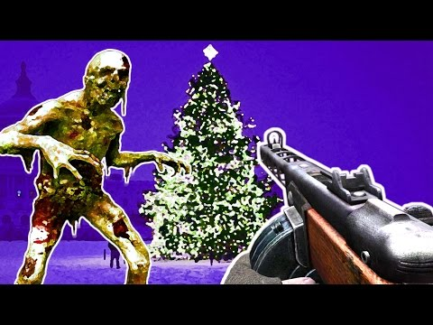 CHRISTMAS ZOMBIES CHALLENGE, KILLSTREAK SYSTEM! Call of Duty Black Ops 3 Mod Gameplay