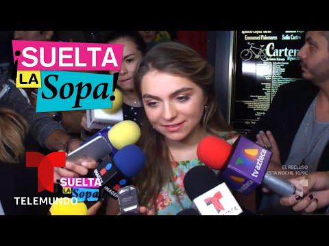 Sofía Castro habla del supuesto divorcio de su madre   Suelta La Sopa   Entretenimiento