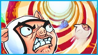 THE SPIRAL OF INFINITE RAGE!! - Mini Golf Funny Moments! (Golf It Rage Gameplay!)