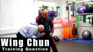 Wing Chun training - wing chun how to use elbow drill Q18