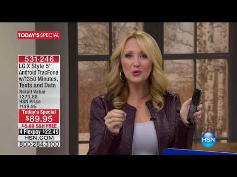 HSN | Electronic Connection featuring TRACFONE 01.27.2017 - 04 PM