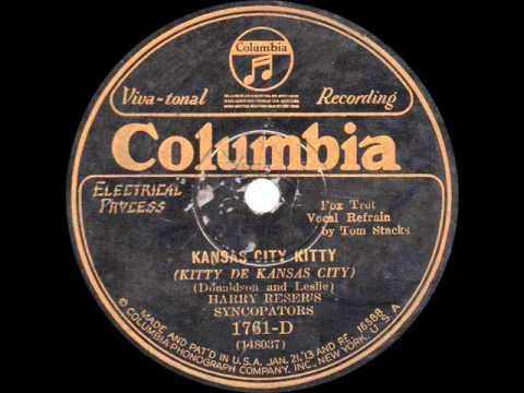 Harry Reser's Syncopators - Kansas City Kitty - 1929