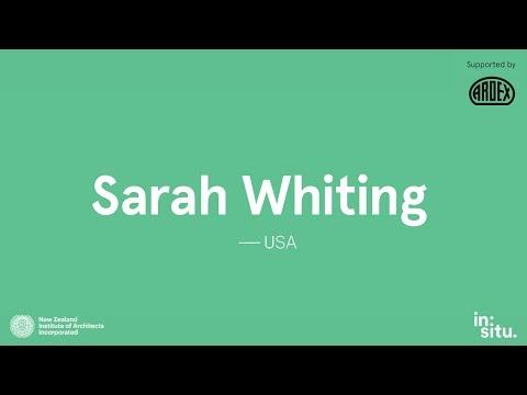 in:situ 2015 - Sarah Whiting