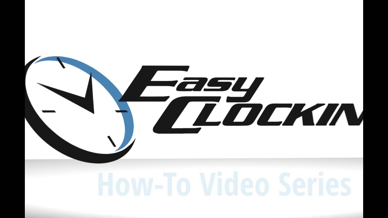 Easy Clocking Time & Attendance Software How To Video Series: Paid Time Off  Feature