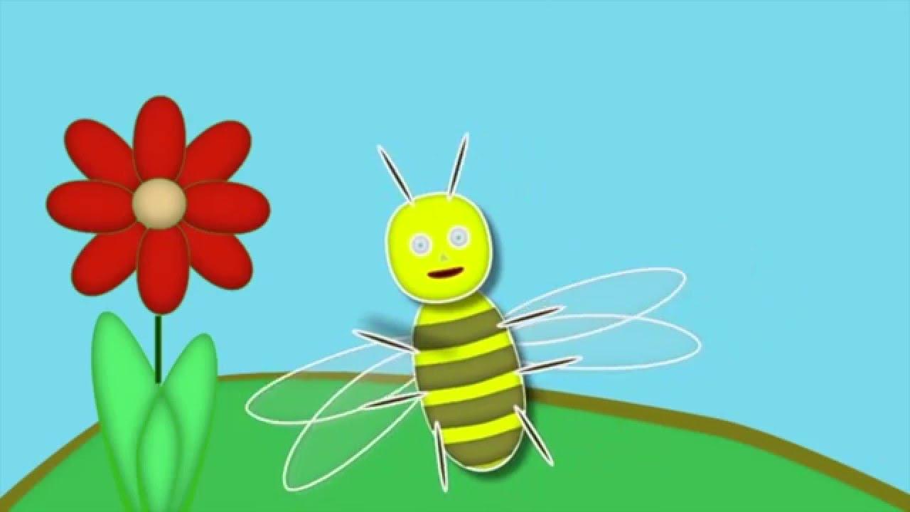 abeille dessin animé - YouTube