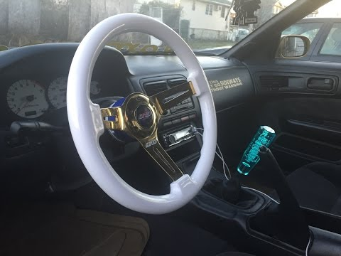 How to Install Aftermarket Steering Wheel With NRG Hub and Working Horn