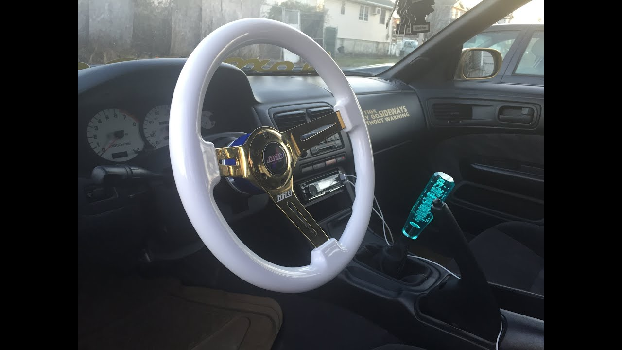 how to install aftermarket steering wheel with nrg hub and working horn [ 1280 x 720 Pixel ]