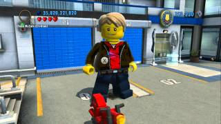 LEGO City Undercover - 100% Completion Reward - Super Minifigure + 450 Gold Brick Reward