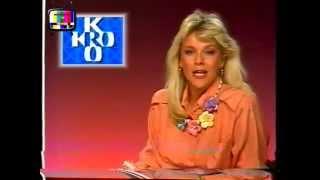 Nederland 2 - Einde KRO + STER blok Loeki de Leeuw (10-03-1988)