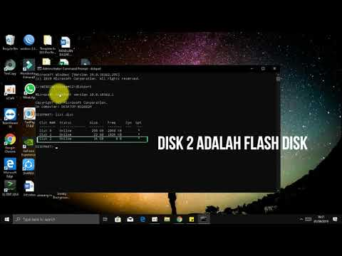 2Menit FIX! The file or Directory Corrupted and unreadable-Harddisk atau Flashdisk Tidak bisa Dibaca.