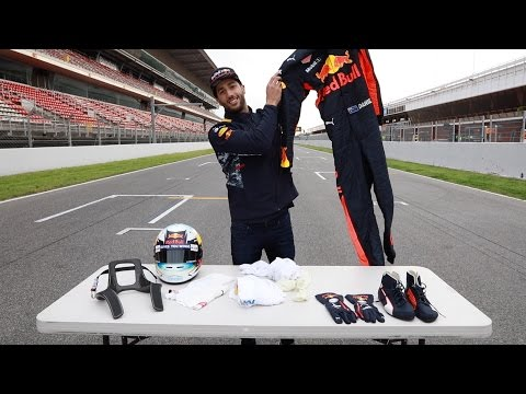 What kit does an F1 driver wear? Daniel Ricciardo explains!
