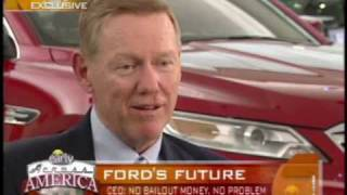 Ford Motor Company CEO, Alan Mulally, on CBS - March 2009