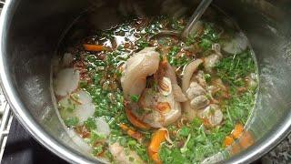 Nấu nồi BÁNH CANH GIÒ HEO nước súp thơm đậm đà