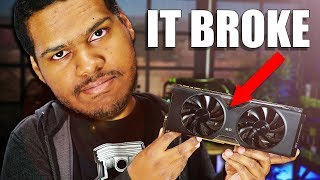 His GPU stopped working... Can Jay fix it?