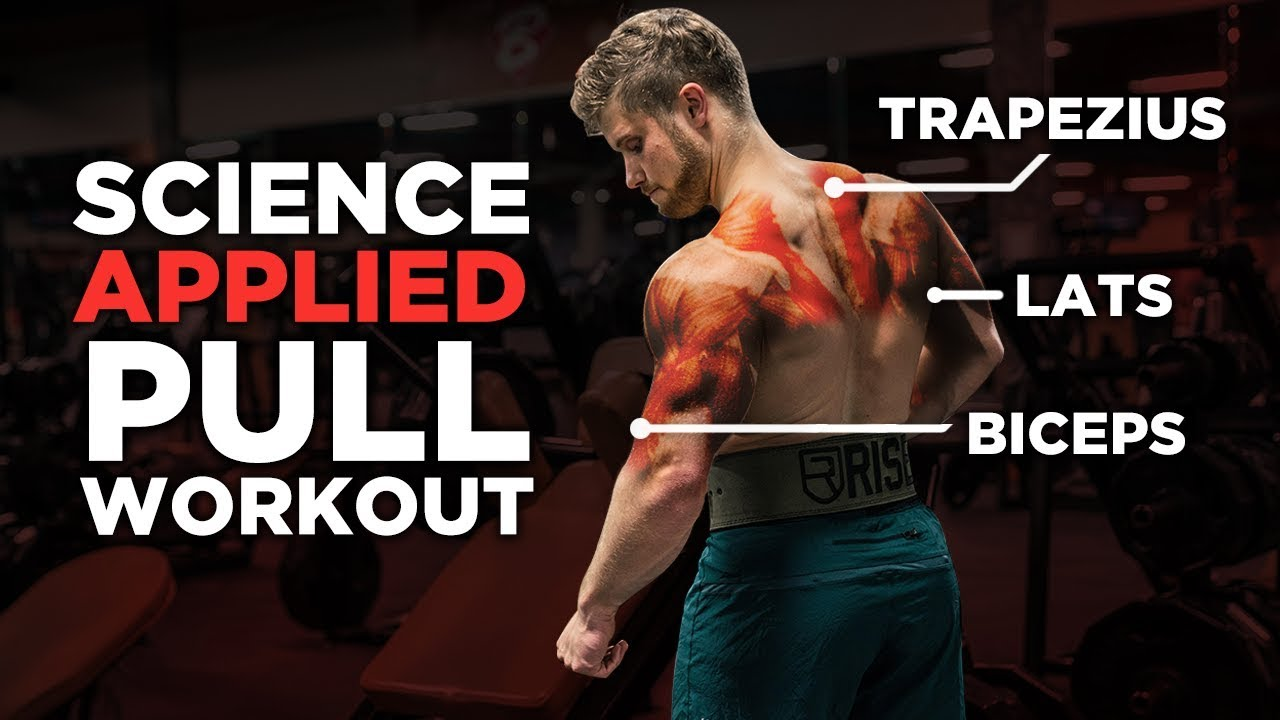 The Most Effective Science-Based PULL Workout: Back, Biceps & Rear Delts  (Science Applied Ep  2)
