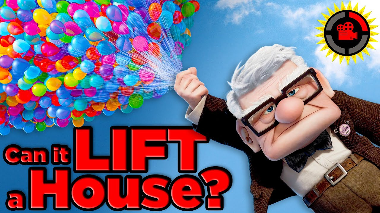 Film Theory: Pixar's Up, How Many Balloons Does It Take To Lift A House?