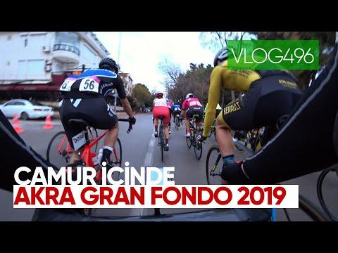 Çamur Içinde Akra Gran Fondo 2019 | Asla Durma Vlog496