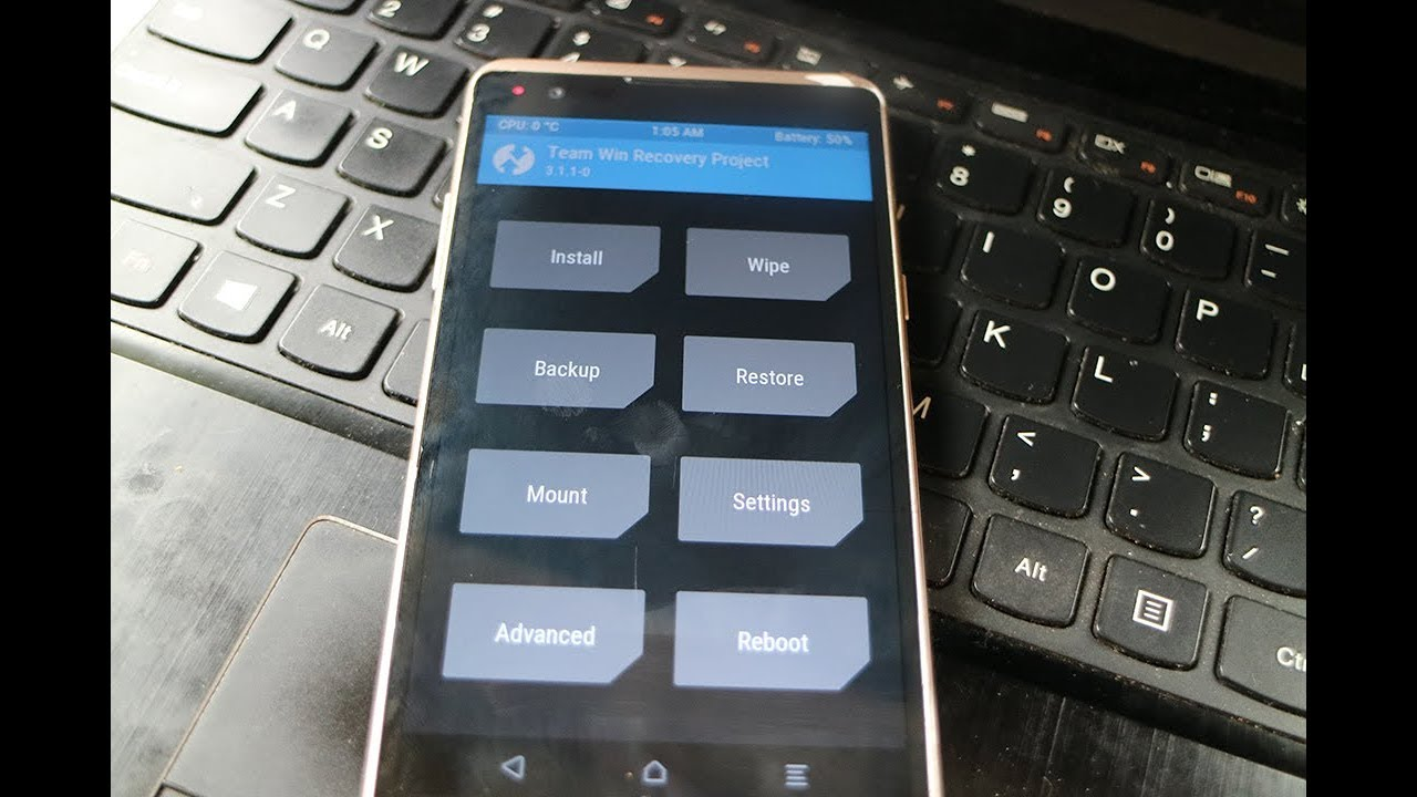 Cara Root Dan Install TWRP LG X Power