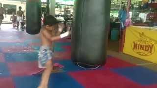 4 Year old Muay Thai Superstar in Phuket, Thailand