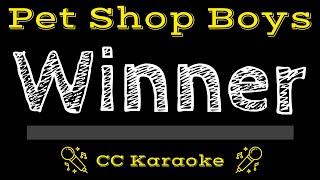 Pet Shop Boys Winner CC Karaoke Instrumental Lyrics