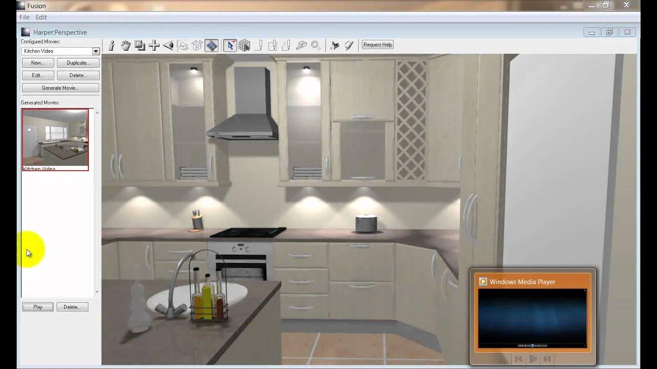 Fusion Kitchen Design Software