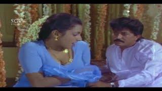 Wife Killed Devaraj in First Night | Shankarnag | Kannada Best Scene of CBI Shankar Movie