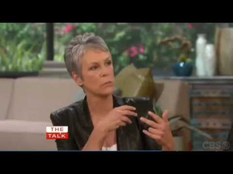 Jamie Lee Curtis on The Talk about NCIS and Mark Harmon
