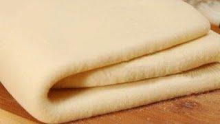 Слоёное тесто быстрого приготовления /Слоеное тесто бездрожжевое
