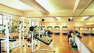 Школа - Урок физкультуры - Тренажерный зал.