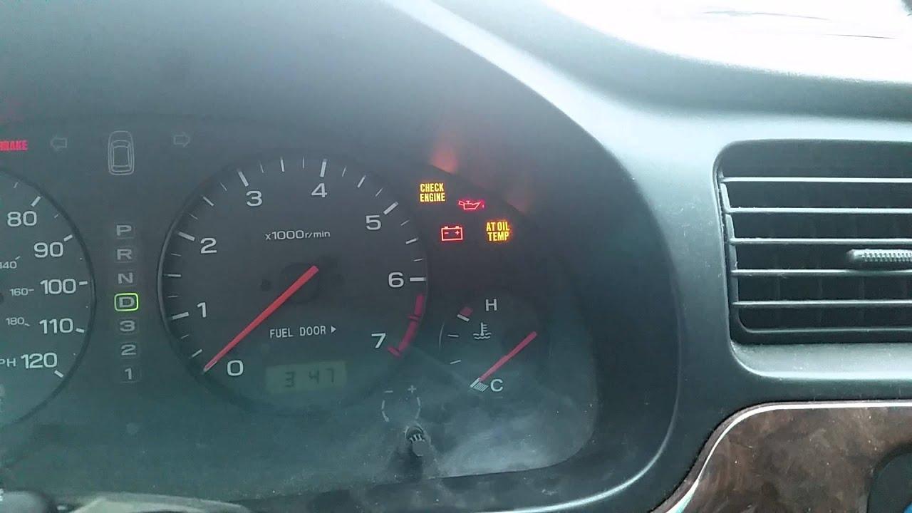 2000 Subaru Outback At Temp Light Youtube
