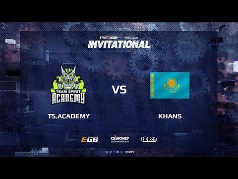 TS.Academy vs KHANS, map 1 cache, SL i-League Invitational Shanghai 2017 CIS Qualifier
