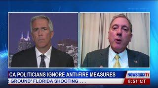 Chuck DeVore Talks about the California Fires