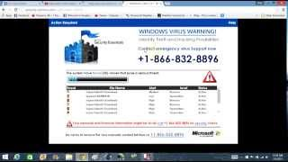 Remove Fake Microsoft Security Essentials Technical Support Scam