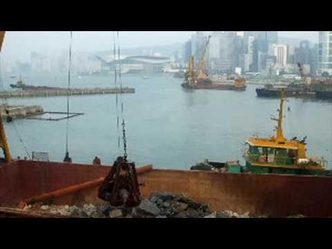 Hong Kong Harbour Building Work