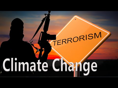 Media Pushes Emergent Scientific Hoax That Climate Change Is Leading To Terrorism!
