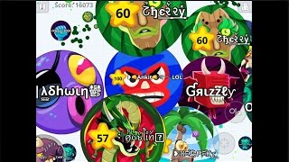 destroying servers in mobile agar io with wh clan baits tricks   epic takeover