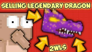 SELLING LEGENDARY DRAGON FOR 2WLS *PRANK* | Growtopia
