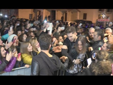 Catanzaro, marea di fans per Teresa Cilia e Salvatore Di Carlo
