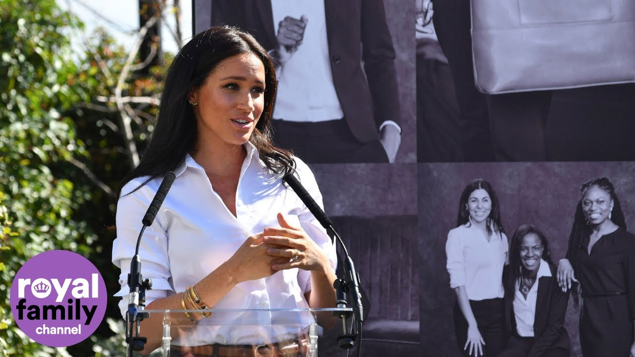Duchess of Sussex Makes Speech at Smart Works Launch