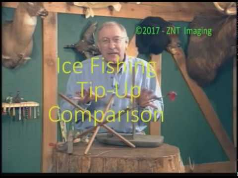 Fred Trost Compares Different Types Of Tip Ups Used For Ice Fishing