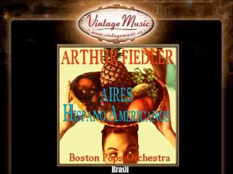 Arthur Fiedler -- Brasil